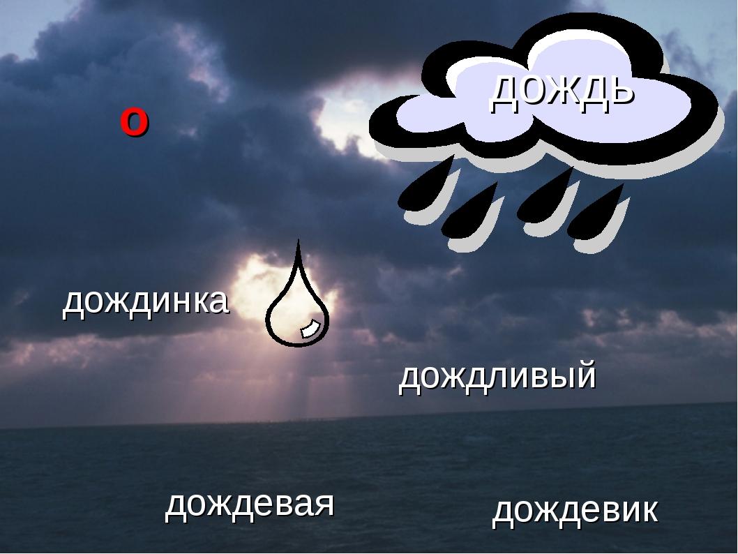 дождинка дождливый дождевая дождевик дождь о