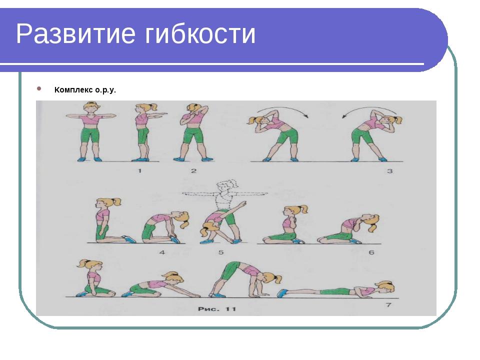 Развиваем гибкость упражнения картинки