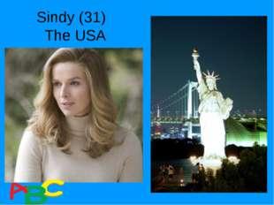 Sindy (31) The USA
