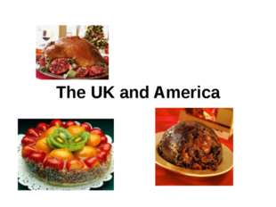 The UK and America