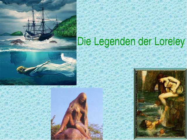 Die Legenden der Loreley