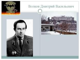 Волков Дмитрий Васильевич