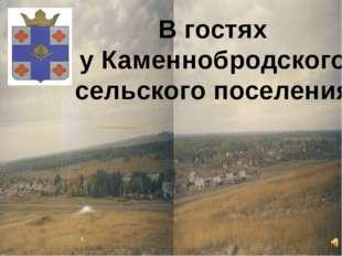 В гостях у Каменнобродского сельского поселения
