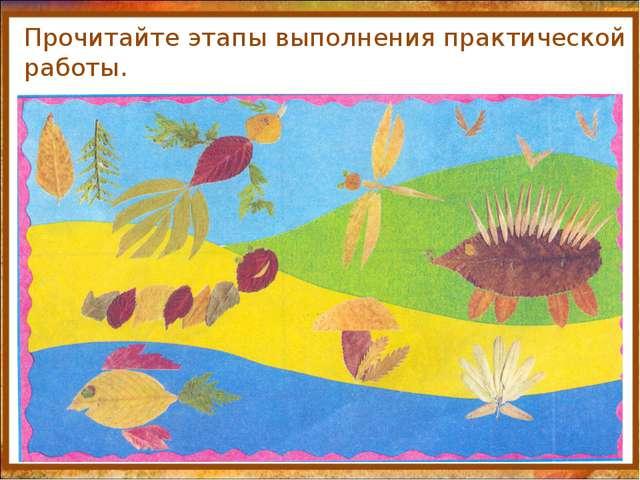 http://aida.ucoz.ru Прочитайте этапы выполнения практической работы.