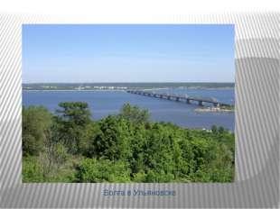 Волга в Ульяновске