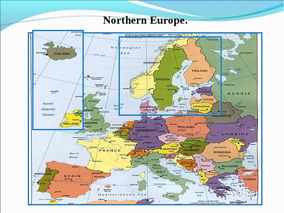Northern Europe.