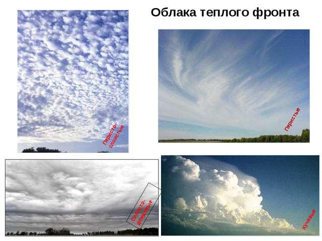 Облака теплого фронта