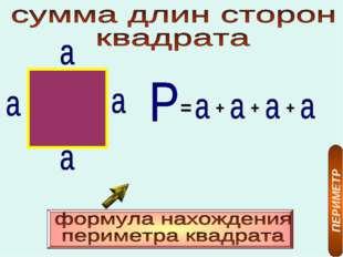 = + + + ПЕРИМЕТР