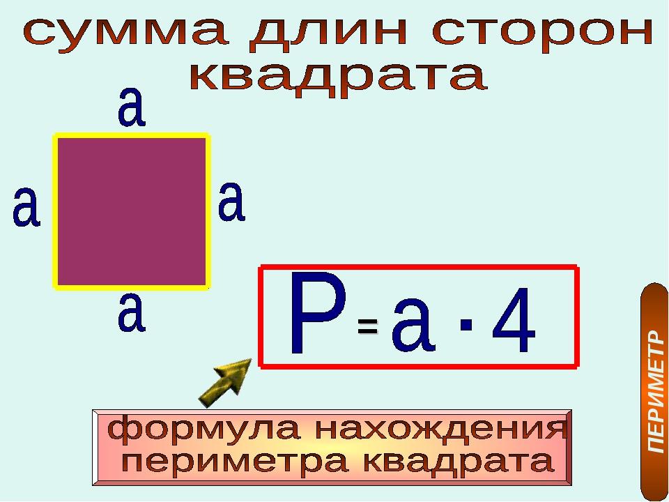 = ПЕРИМЕТР