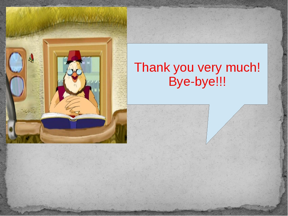 Thank you very much! Bye-bye!!!