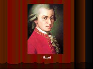. Mozart