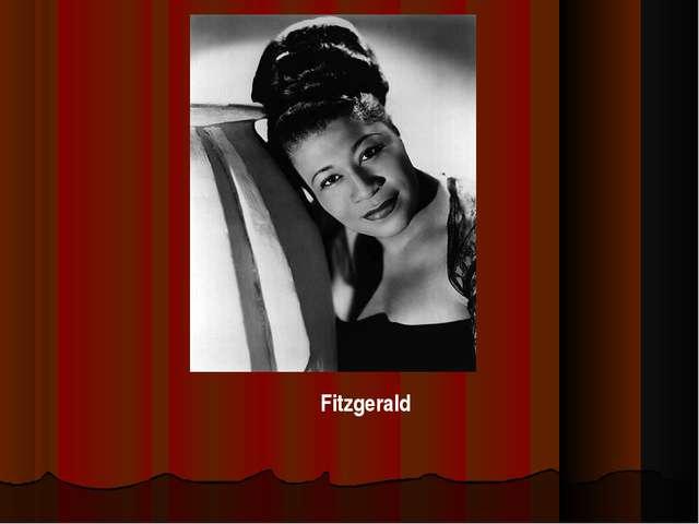 . Fitzgerald