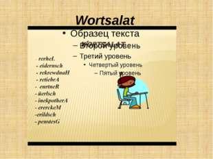 Wortsalat