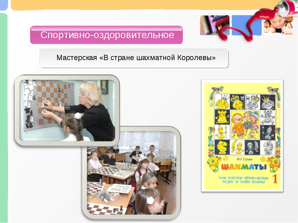 Спортивно-оздоровительное Мастерская «В стране шахматной Королевы»
