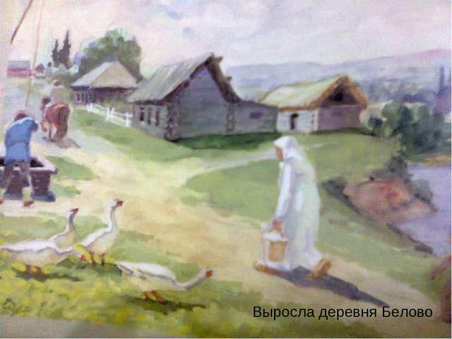 Выросла деревня Белово