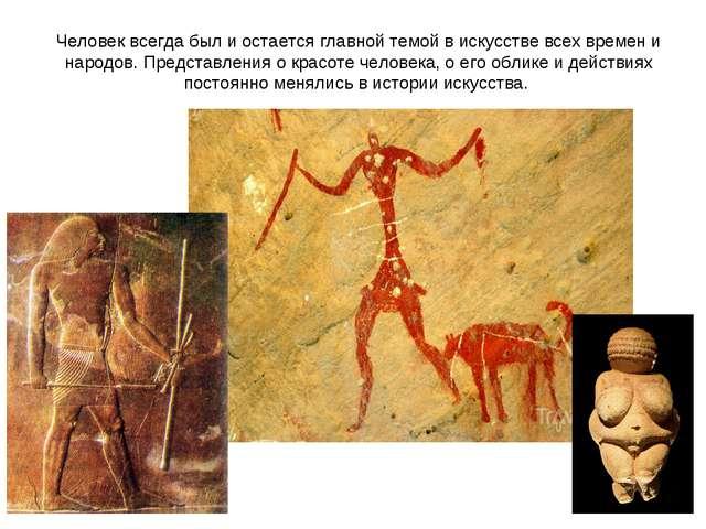 Человек всегда был и остается главной темой в искусстве всех времен и народов...