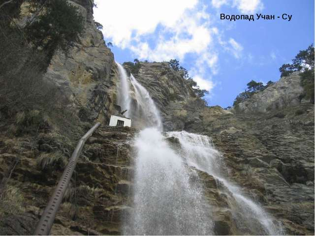 Водопад Учан - Су