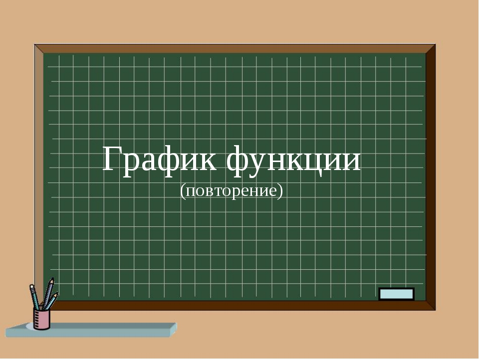 График функции (повторение)