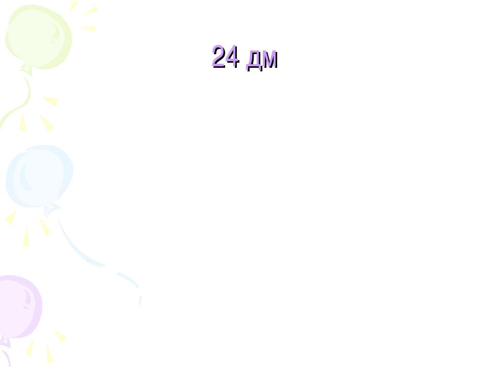 24 дм