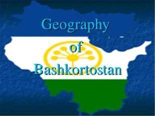 Geography of Bashkortostan