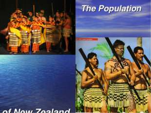 The Population of New Zealand