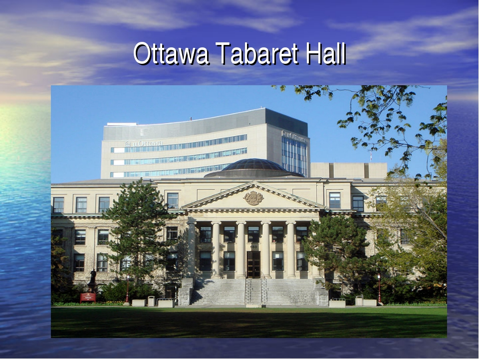 Ottawa Tabaret Hall