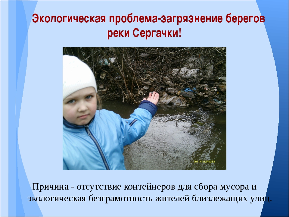 Причина - отсутствие контейнеров для сбора мусора и экологическая безграмотно...