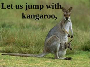 Let us jump with kangaroo,