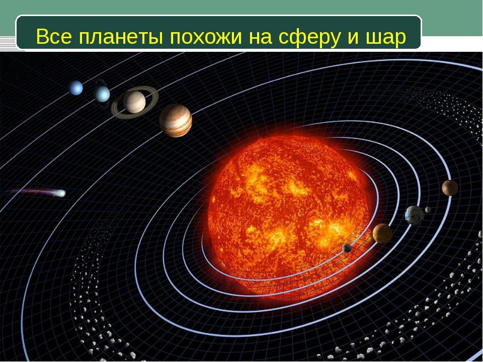 Все планеты похожи на сферу и шар Педагогический опыт Евсеевой О.А.