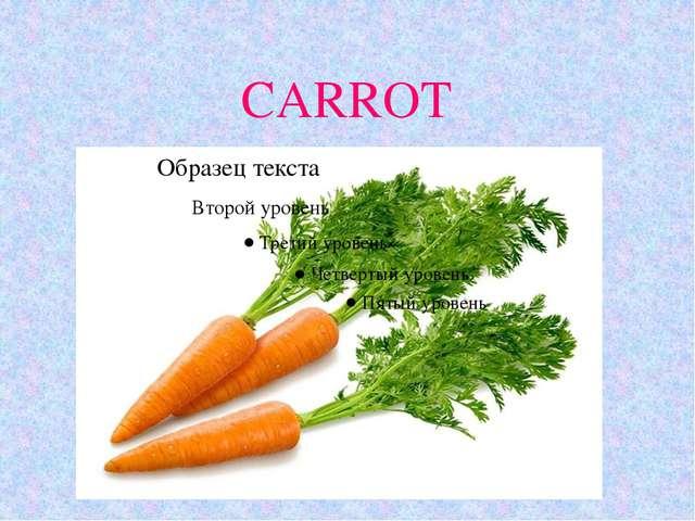 CARROT 11.10.10