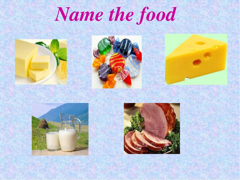 Name the food