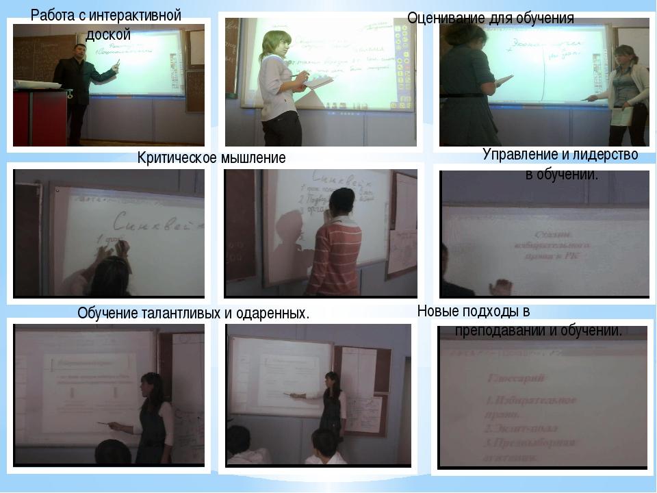 Обучение талантливых и одаренных. Новые подходы в преподавании и обучении. Кр...