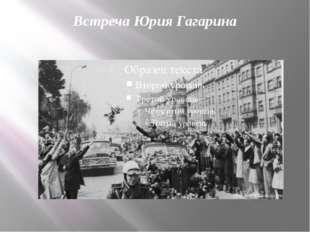 Встреча Юрия Гагарина