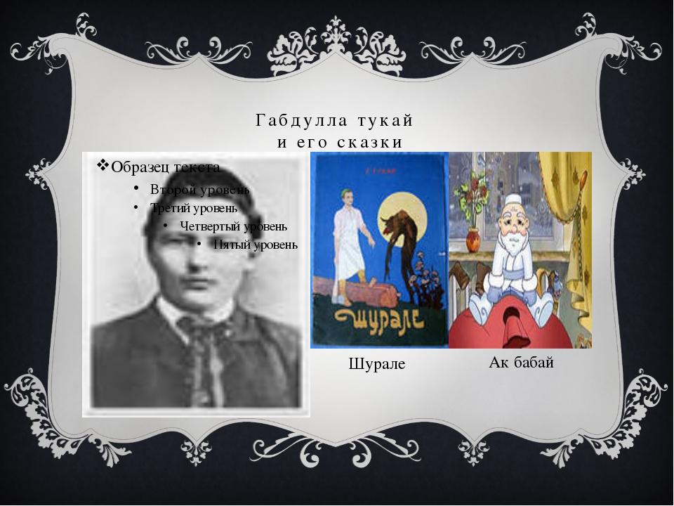 Габдулла тукай и его сказки Шурале Ак бабай