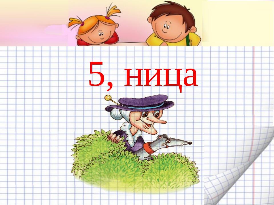 5, ница