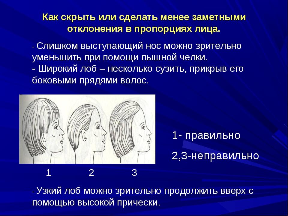Как скрыть или сделать менее заметными отклонения в пропорциях лица. - Слишко...