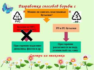 Разработка способов борьбы с пластиковыми отходами Можно ли сжигать пластиков
