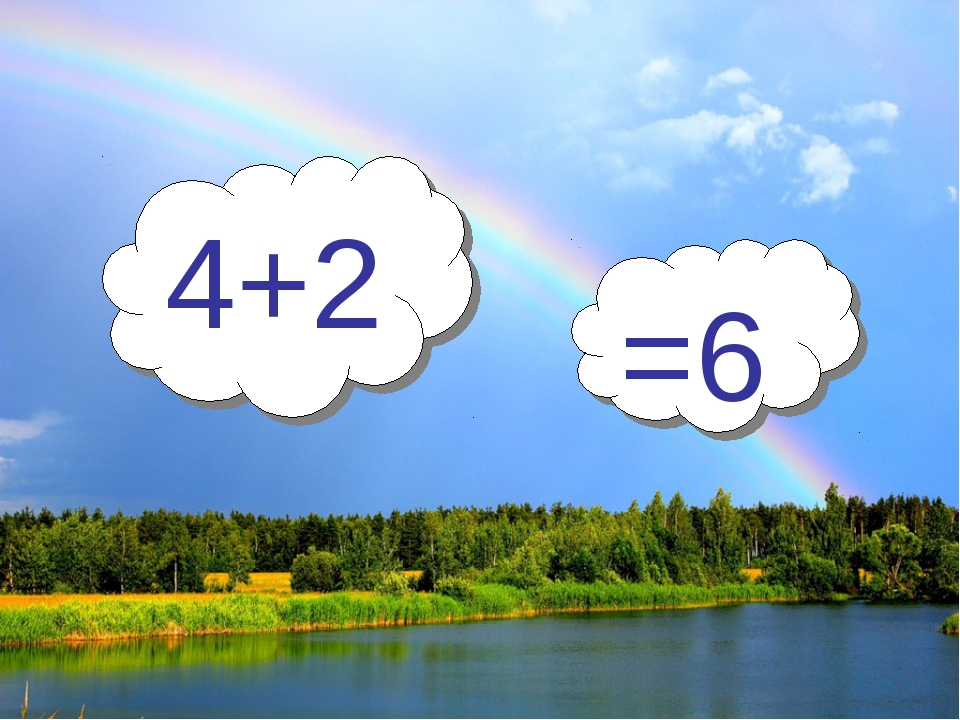 4+2 =6