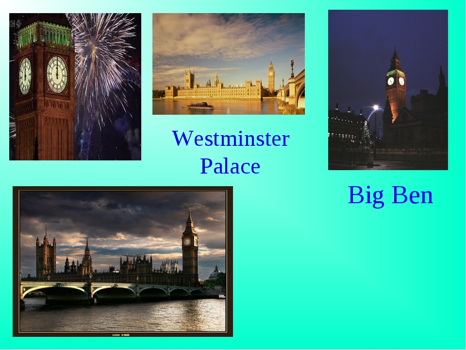 Big Ben Westminster Palace Home - null