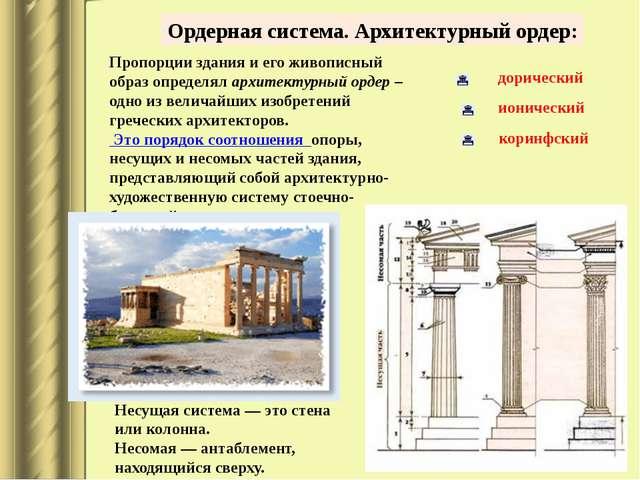 В греческом зодчестве существовал еще один ордер —коринфский,возникший поз...