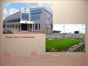 Дворец спорта «Юбилейный»