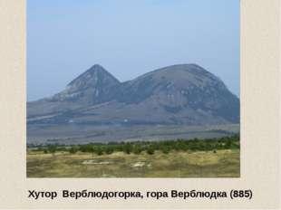 Предгорный р-н, гора Джуца (Джуца 2-ая) (1190 м)