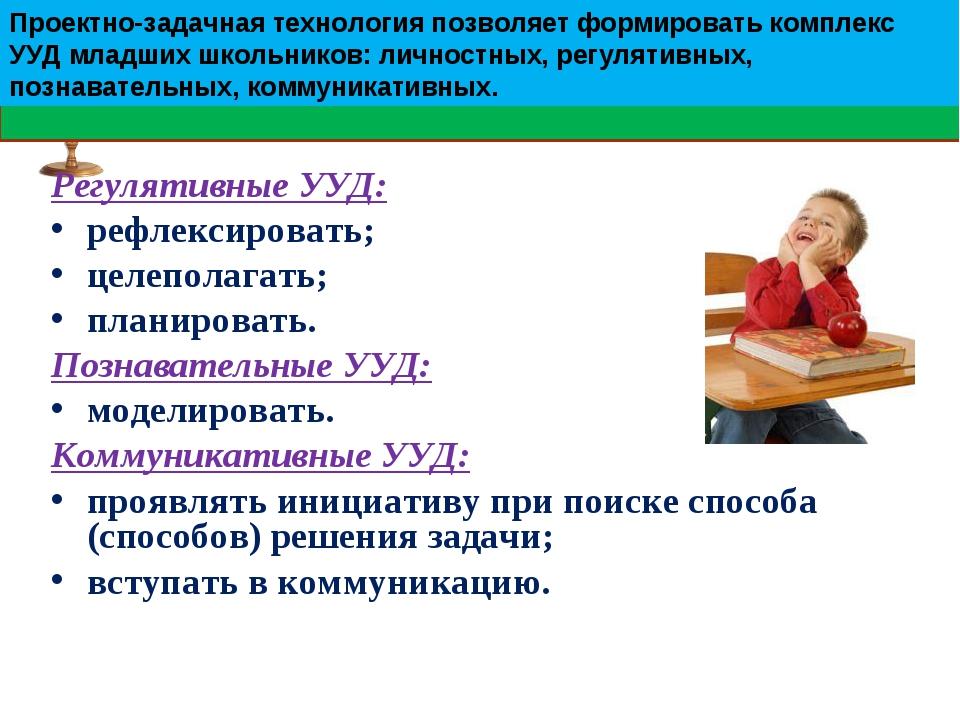 Регулятивные УУД: рефлексировать; целеполагать; планировать. Познавательные У...