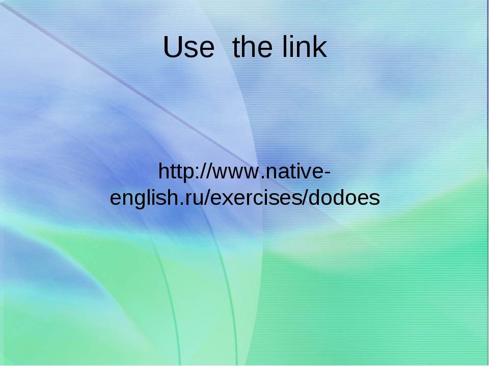 Use the link http://www.native-english.ru/exercises/dodoes