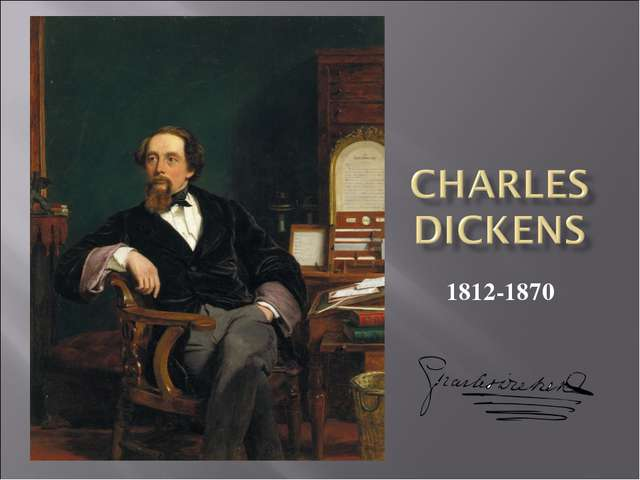 charles dickens s use of language to