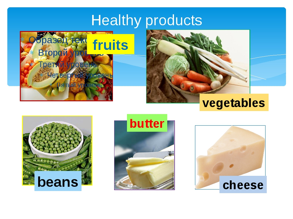 Healthy products fruits vegetables beans butter cheese