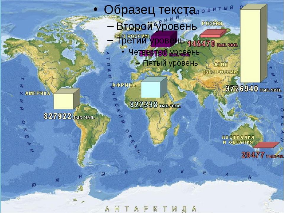 Численность населения Земли