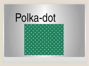 Polka-dot