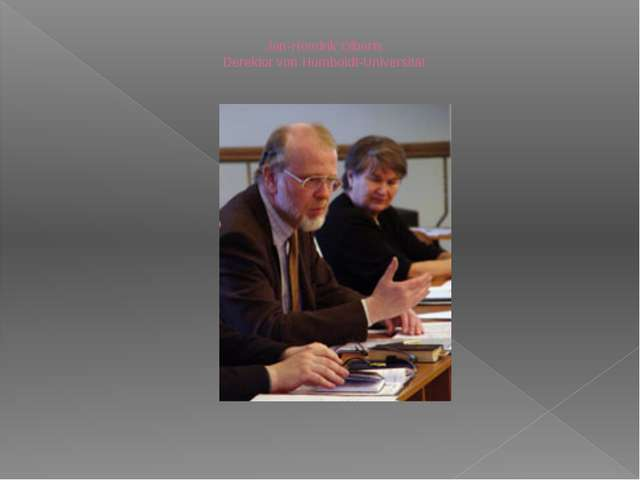 Jan-Hendrik Olberts. Derektor von Humboldt-Universität