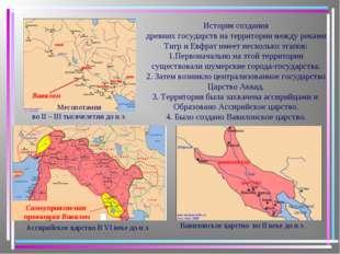 Месопотамия во II – III тысячелетии до н.э. Ассирийское царство В VI веке до